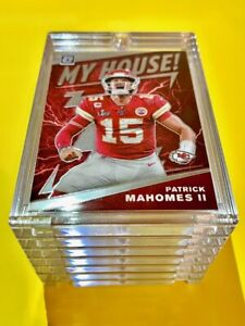 Patrick Mahomes DONRUSS OPTIC MY HOUSE! SPECIAL INSERT CARD 2020 CHIEFS - Mint!