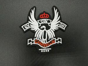 Parche Patch Escudo Agila Niño Niña Corona Militar juego remiendo ropa planchar