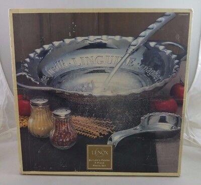 Lenox Metal Hollowware Butler S Pantry Handled Pasta