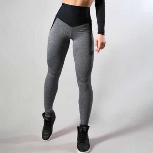 Women/'s Casual Workout Leggings Fitness Sports Running Yoga Athletic Slim Pants