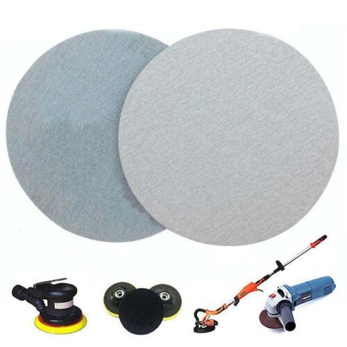 "10PCS 5/"" Hook And Loop Sanding Paper 125mm Disc Abrasive Sander Pad 80~1000 Grit"