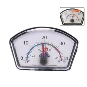 Aquarium-thermometer-pointer-fish-tank-temperature-dial-submersible-suction-RA