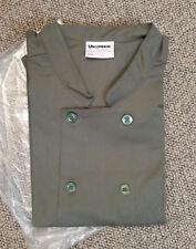 New Nwt Big Mens 5xl Chef Jacket Uncommon Threads Work Wear Kitchen Cook Uniform
