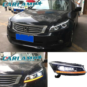 Attractive Image Is Loading LED Headlights For Honda Accord 8TH Gen 2008
