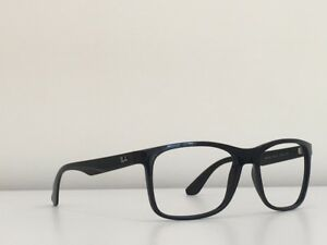 1fbbeef07a 67 Ray Ban RB 4232 601 71 Black Rectangle Frame Sunglasses No Lenses ...