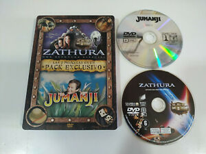 Zathura-Jumanji-Steelbook-Set-Esclusivo-2-DVD-fuori-Produzione-3T
