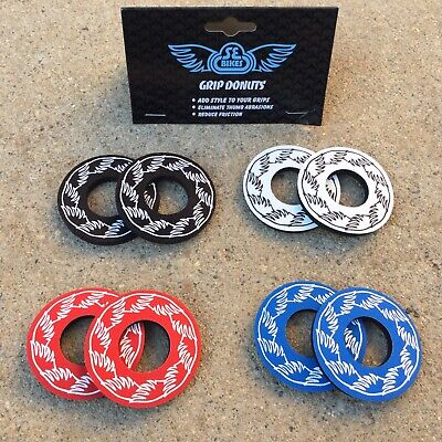 SE Racing BMX Bike Wing Grip Donuts Blue