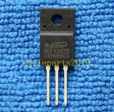 2pcs MDF10N65BTH MDF10N65B IC Chip TO-220F