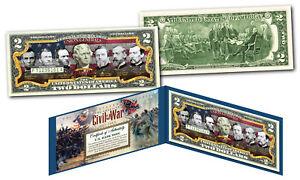UNION-GENERALS-of-the-American-Civil-War-Genuine-Legal-Tender-U-S-2-Bill-GRANT