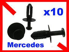 10 7mm Hole Plastic Rivet Trim Panel Retainer Mercedes benz Clips 20K