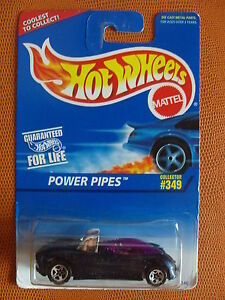 COLLECTOR-N-349-POWER-PIPES-1-64-HOT-WHEELS-MATTEL