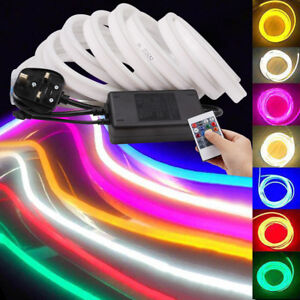 Details about RGB LED Neon Flex LED Strip 220V 2835 waterproof Neon Light  white complete kit