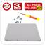 A1342-Apple-MacBook-13-034-Unibody-Bottom-Case-Rubber-Lid-Cover-Door-2009-2010 Indexbild 1