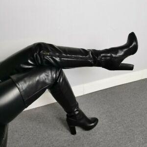 overknee stiefel reißverschluss