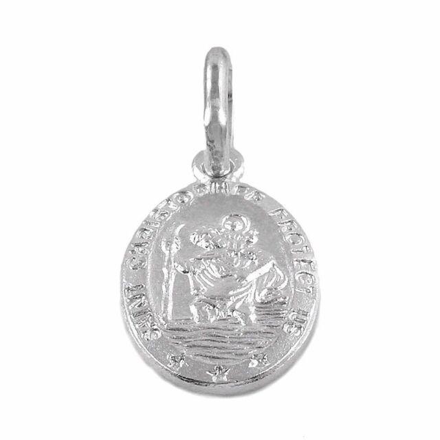 Saint Christopher Bracelet 925 Sterling Silver Saint Christopher
