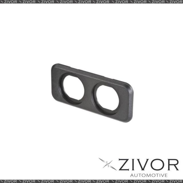 New NARVA Twin Blank Flush Mount Housing Black 81149BL *By Zivor*