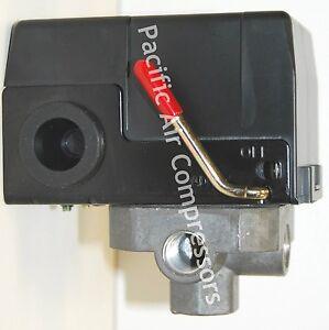 HUSKY E100971 PRESSURE SWITCH 120 VOLT 95-125 PSI 4 PORT HUSKY MODEL 395-226