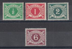 Ireland-Sc-J1-J4-MLH-1925-Postage-Dues-cplt-set-fresh-bright-F-VF