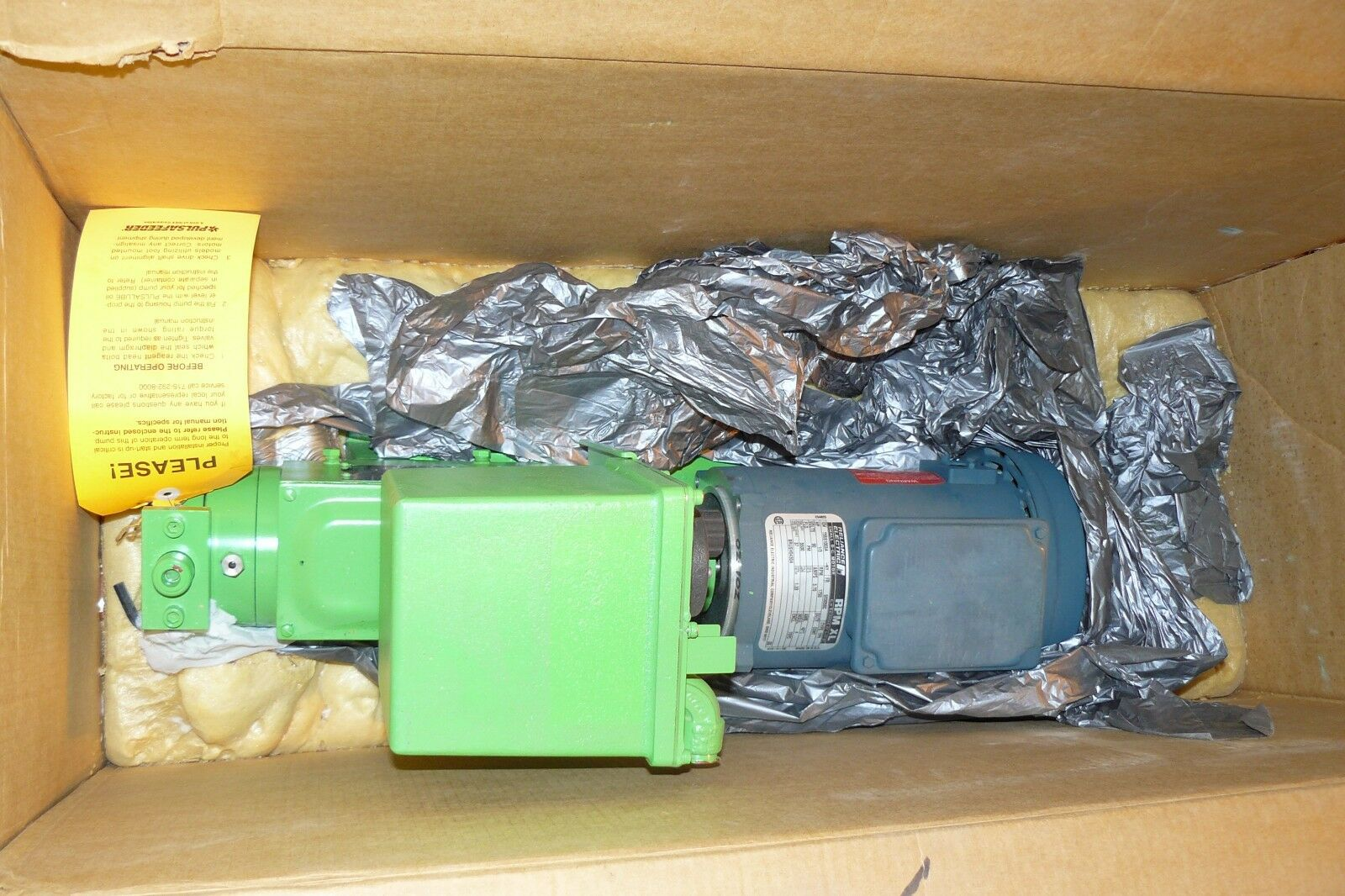 Pulsafeeder 680-s-ae Pulsa Diaphragm Metering Pump 0 88gph 925psi