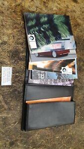 057-BMW-E46-Compact-Bordmappe-Leder-Handbuch-Bedienungsanleitung-Bordliteratur
