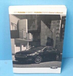 ford fusion hybrid manual 2017