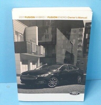 ford fusion hybridfusion energi owners manual ebay