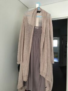 ZARA-Excellent-rare-Baby-Pink-Waterfall-Drapes-Morhair-Wool-Knits-Size-S