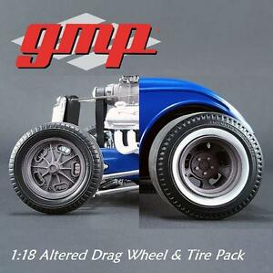 GMP-18864-1-18-Altered-Drag-Wheel-amp-Tire-Pack-1-18-NEW