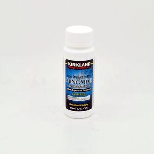 Kirkland 1 Month Supply Minoxidil 5% Extra Strength Men Hair Regrowth Solution
