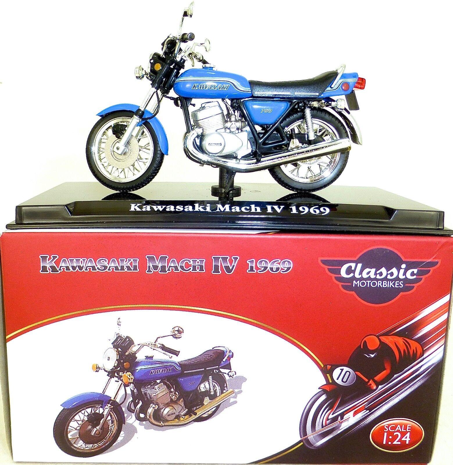 Kawasaki Do IV 1969 Moto Classique Atlas 4658111 1 24 HI3 µ
