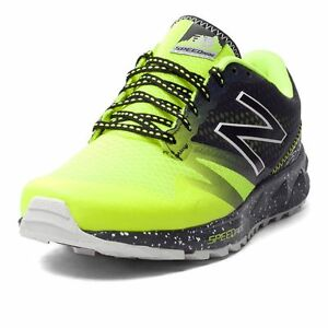 NEW BALANCE MT690LH1 SCARPA TRAIL RUNNING GIALLO FLUO/NERO