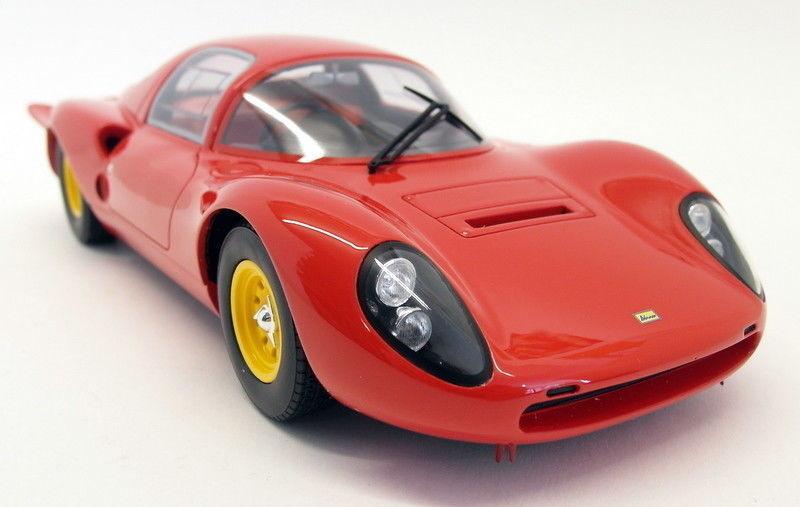 comprar descuentos CMR escala 1 18 - 044 044 044 Ferrari Dino 206S LLANO CUERPO VERSIÓN 66 Coche Modelo de Resina Roja  ventas en línea de venta
