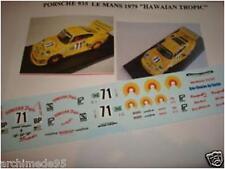 """PORSCHE 935 LE MANS 1979 """"HAWAIAN TROPIC N.  DECAL 1/43"""