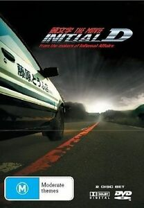 initial d the movie andy lau cars racing genuine r4 dvd 2 discs