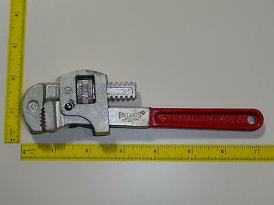 "VTG Billings Pipe Wrench 8"" NOS 1/8"" to 3/4"" Hand Tool Rare USA Plumber Scarce"