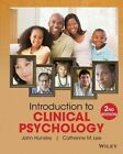 Introduction to Clinical Psychology: An Evidence-Based Approach by Catherine M. Lee, John D. Hunsley (Paperback, 2014)