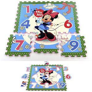 Disney-Spielmatte-Puzzlematte-Spielboden-EVA-Schaum-Minnie-Mouse-Cars-Paw-Patrol