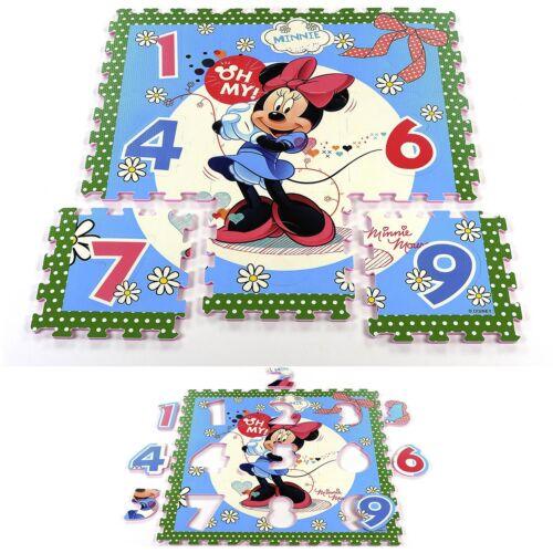 Disney Spielmatte Puzzlematte Spielboden EVA Schaum Minnie Mouse Cars Paw Patrol