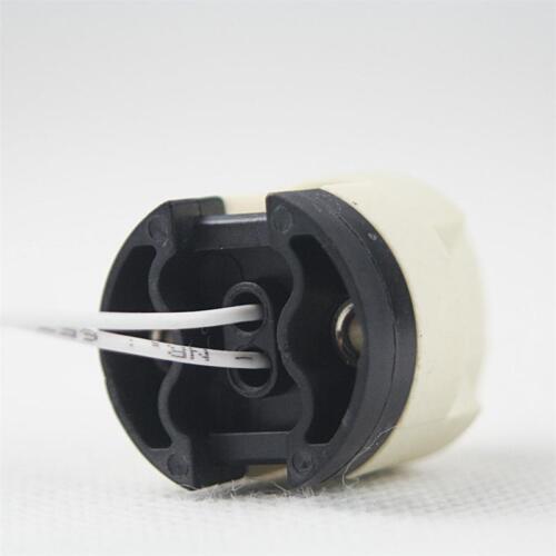 Fassung für G-9 Sockel 230V Hochvolt-Lampenfassung G9 mit PTFE-Leitung 15cm