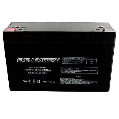 Emergi-Lite LCX60 Compatible Replacement Battery