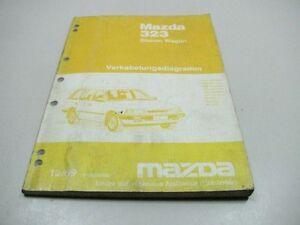 Mazda 323 Station Wagon 1989 Electrical Wiring Diagrams ...