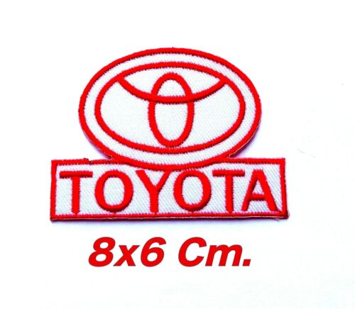 Select TOYOTA Logo Japan automakers Embroidered Iron-on patch Motor Sport Racing