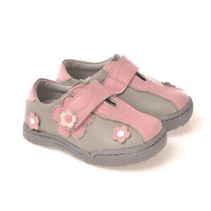 Caroch Mädchen Sneaker Kinderschuhe Halbschuhe aus Leder
