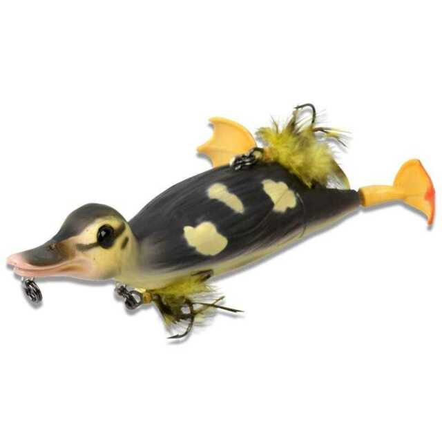 Savage Gear 3D Suicide Duck**10.5cm//28g**Natural//Yellow//Coot Pike Predator Lure