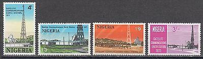 255-258** Erdfunkstelle In Laniate Auf Dem Internationalen Markt Hohes Ansehen GenießEn Briefmarken WunderschöNen Nigeria Nr