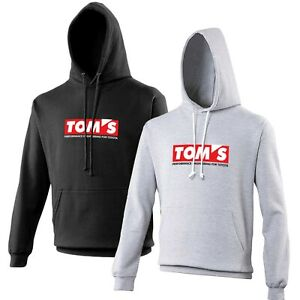 Tom-039-s-Toyota-Hoodie-Car-Enthusiast-VARIOUS-SIZES-amp-COLOURS-JDM-Tuning-Drift
