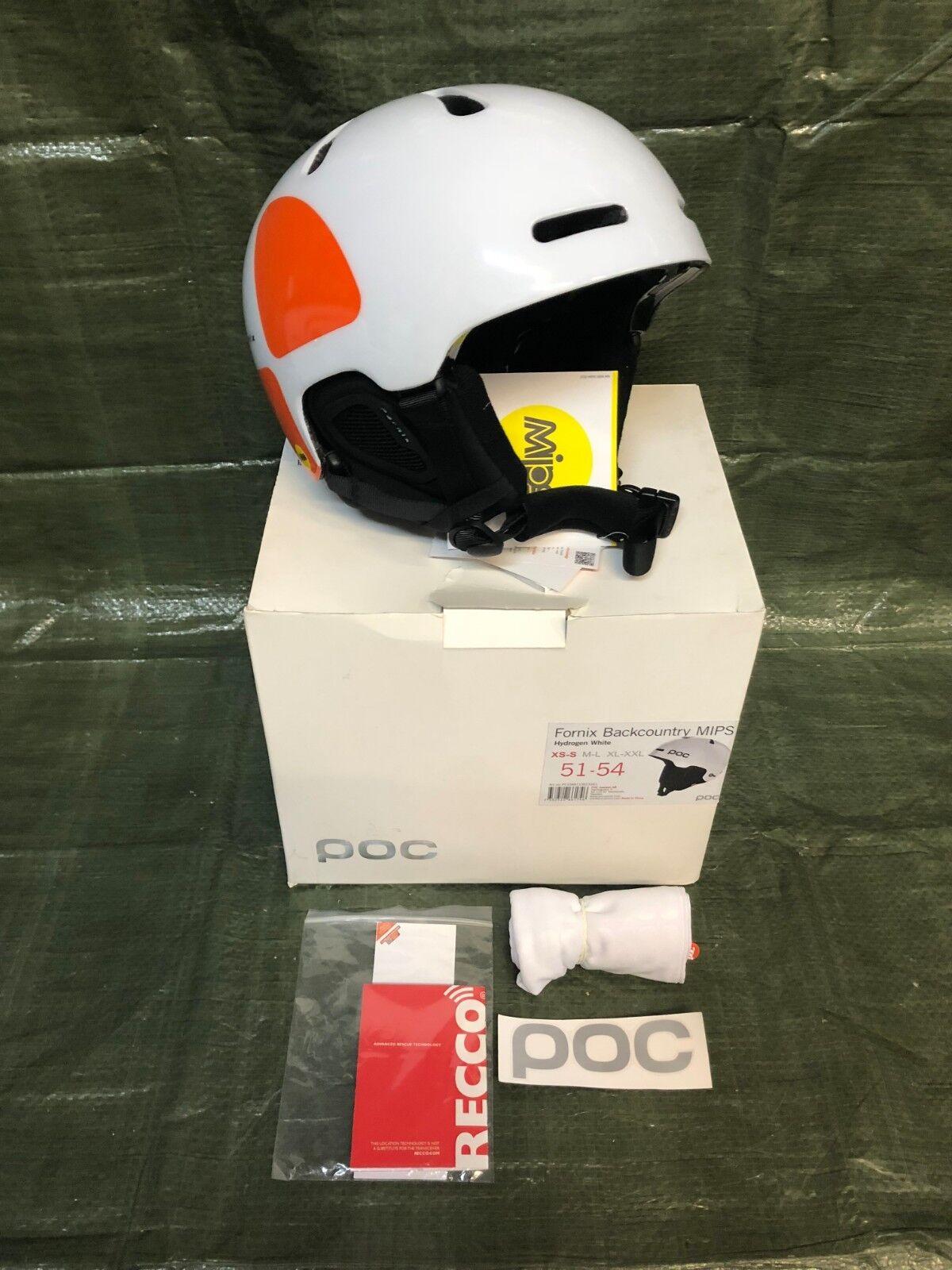 POC Fornix Backcountry MIPS Snowboardhelm Sicherheitshelm Gr. XS-S 51-54cm NR137