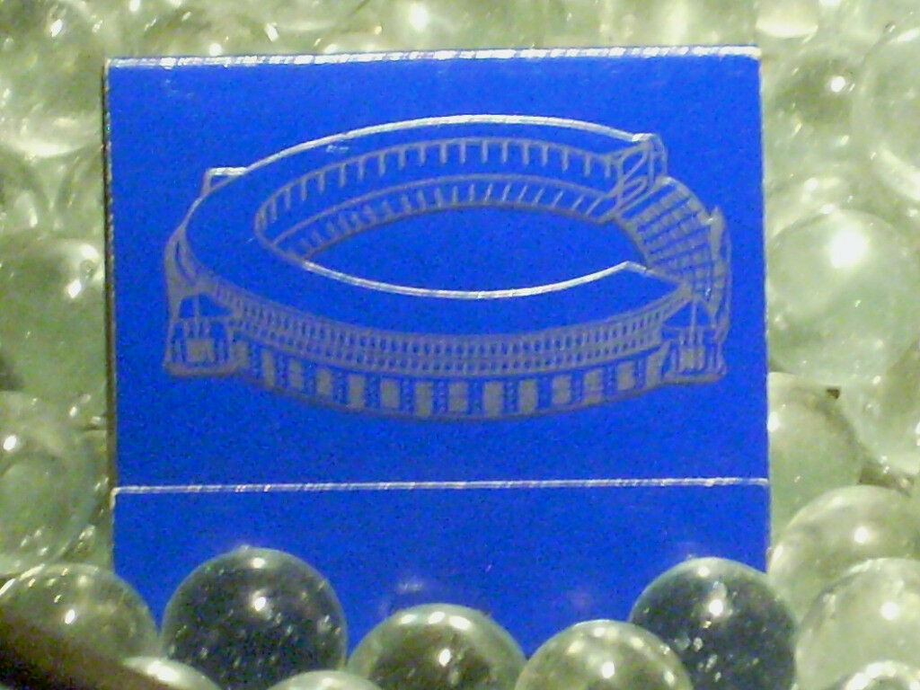 ORIGINAL Cleveland Stadium Matches UNUSED Browns Indians Championship Home Field