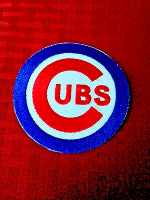Baseball & Softball Weitere Ballsportarten Hilfreich Chicago Cubs C Logo Trikot Abzeichen 13.7cm Wrigley's Field Aufbügeln Nähen Neueste Technik