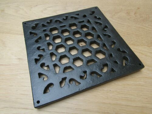 HERITAGE flat repair plate cast iron vintage air vent brick grille cover